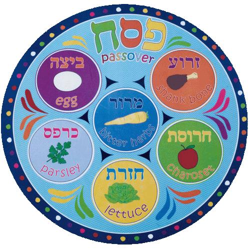 Seder Plate 5